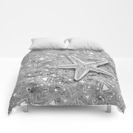 pow wow star Comforters