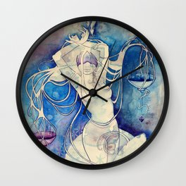 Goddess of Libra - An Air Element Wall Clock