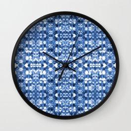 Shibori Mirror Wall Clock
