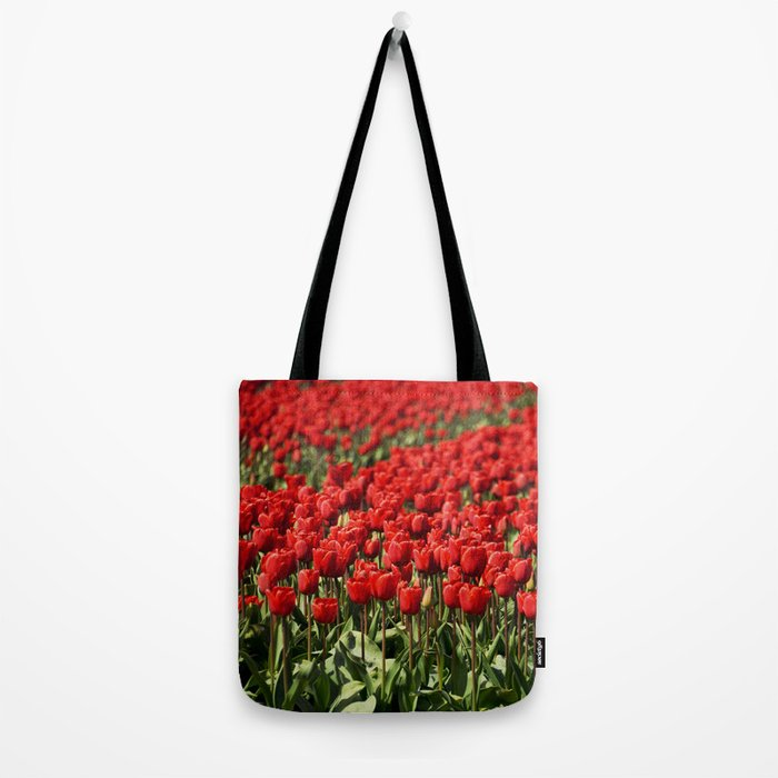 Tulips field #4 Tote Bag