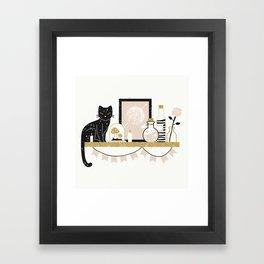 Magical Little Shelf Framed Art Print