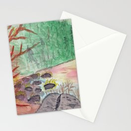 The Cove at Wallum Lake Stationery Cards