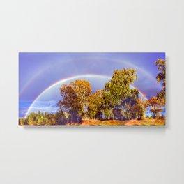 Below the Rainbow Metal Print