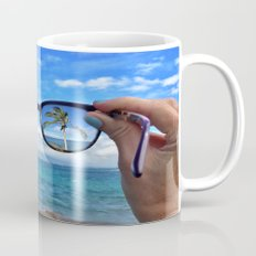 Hawaii Sunglasses Palmtrees Mug