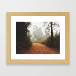 Sycamore Flat Framed Art Print
