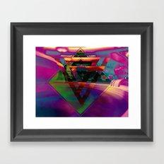 The Bar Framed Art Print