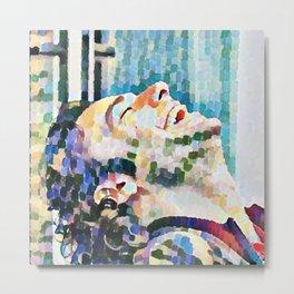 Aidan Turner 6. Metal Print