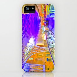 London Pop Art iPhone Case