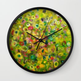 Effervescent Wall Clock