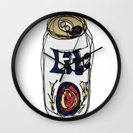 Miller Lite Can Wall Clock