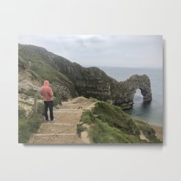 Path to Durdle Door England Metal Print