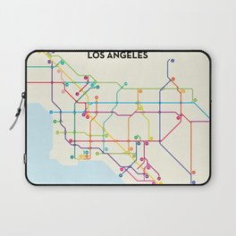 Los Angeles Freeway System Laptop Sleeve