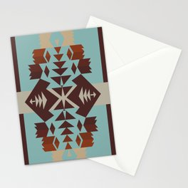 American Native Pattern No. 290 Stationery Cards