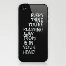 In your head iPhone & iPod Skin