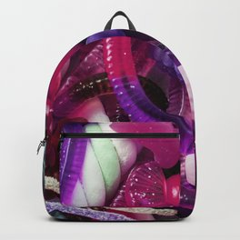 Purple Gummy Candy Backpack