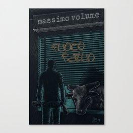 Massimo Volume - Fuoco fatuo   Canvas Print
