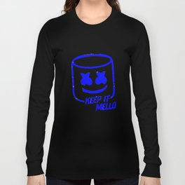Marshmello - Keep It Mello Dark Blue Long Sleeve T-shirt