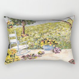"""My Front Porch"" Rectangular Pillow"