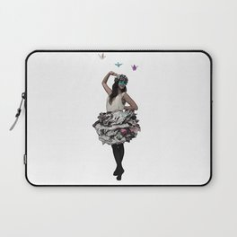 Paper doll Laptop Sleeve