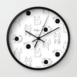 Ghost Trio Wall Clock