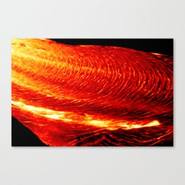 THE FLOOR IS LAVA! Canvas Print