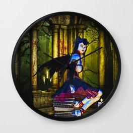 Dark Fairy Wall Clock
