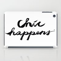 chic iPad Cases featuring CHIC  by I Love Decor