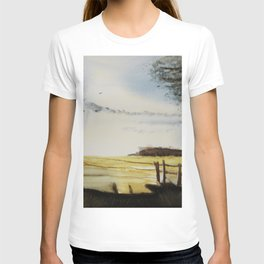 The field of horses T-shirt