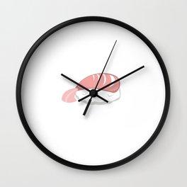 Shrimp with rice Wall Clock