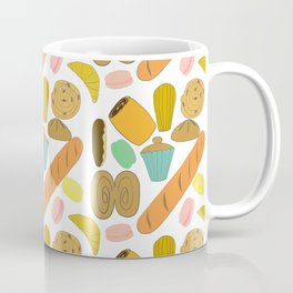 Patisseries de France French Pastries and Breads Coffee Mug