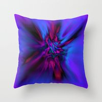 angel wings Throw Pillows featuring Angel Wings by Artist TLynn Brentnall