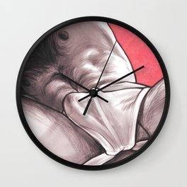 After The Gym Wall Clock