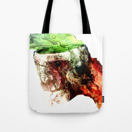 Open Skull Tote Bag