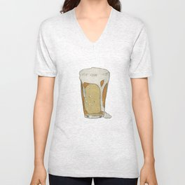 A cold one Unisex V-Neck