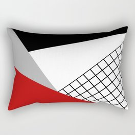 Colorful geometry 3 Rectangular Pillow