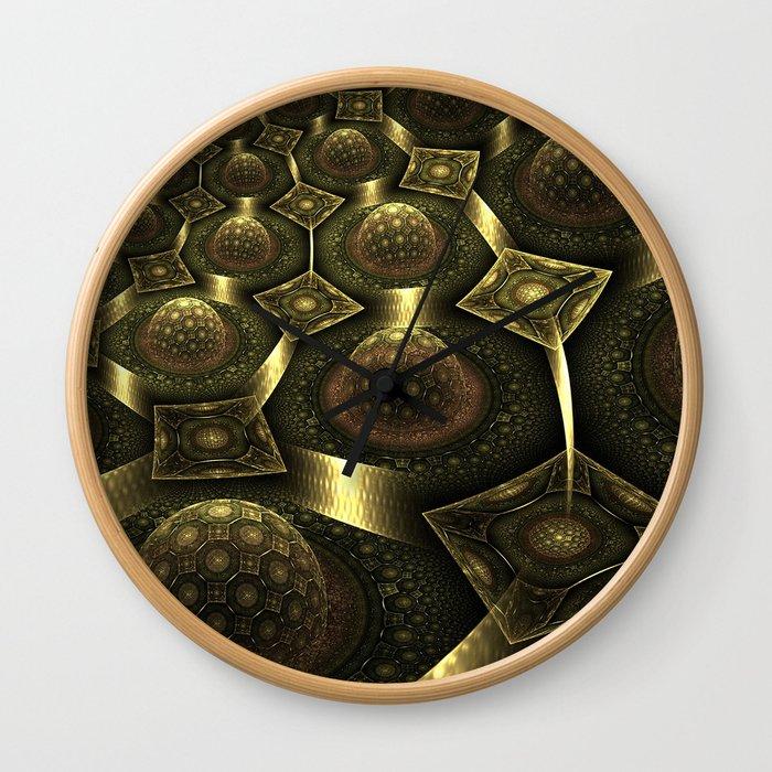 Magnetic fields Wall Clock