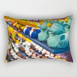 Rubber ducks Rectangular Pillow