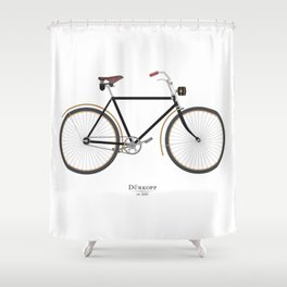 Vintage Dürkopp Bike Shower Curtain