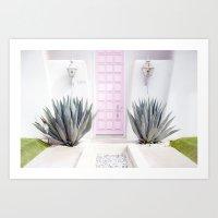 That pink door Art Print