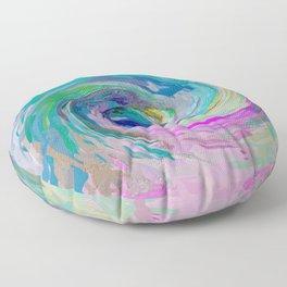 534 - Abstract colour design Floor Pillow