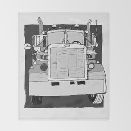 Truck Throw Blanket