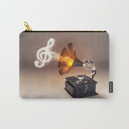 let the music play (just keep the groove) Carry-All Pouch