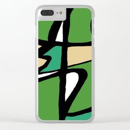 Abstract Painting Design - 8 Clear iPhone Case