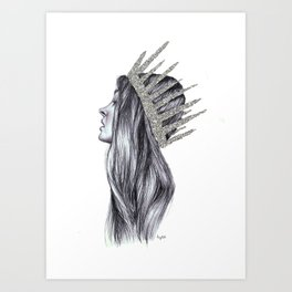 It's Princess to you Art Print