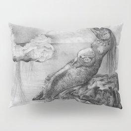 Mermaid pregnant Pillow Sham