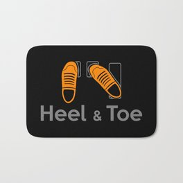 Heel & Toe Bath Mat