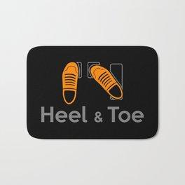 Heel & Toe Bath Mat