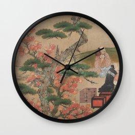 Japanese People's Life VI Wall Clock