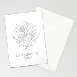 Massachusetts Sketch Stationery Cards