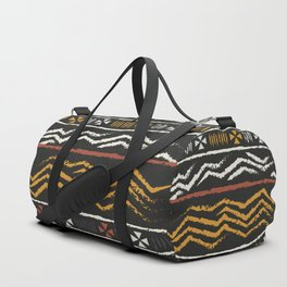 African Tribal Pattern No. 84 Duffle Bag